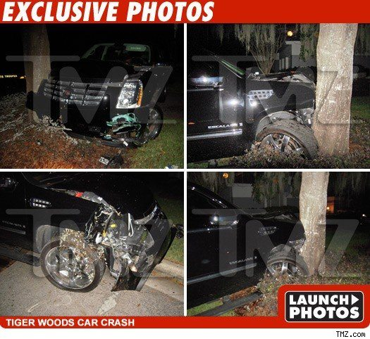 tiger woods  accident update