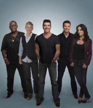 Ellen on American Idol Tonight 2