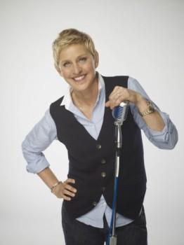 Ellen on American Idol Tonight 1
