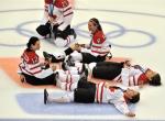 Canadian Women's Hockey Team Party Like Rock Stars 1