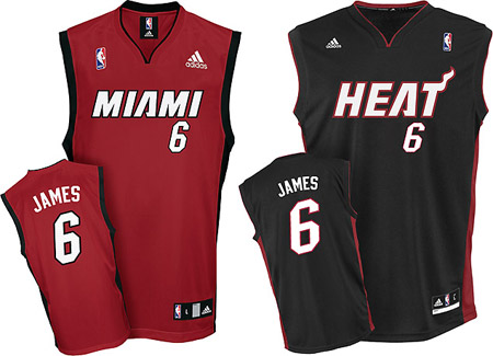 lebron james miami heat. Lebron James Miami Heat Jersey