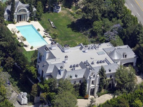 """Michael Jackson's House at a """"Discount"""" 1"""