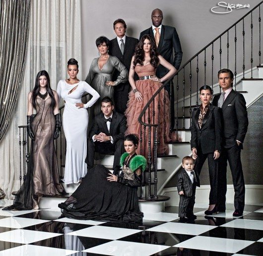 kardashian christmas card. Kardashian Christmas Card 2010