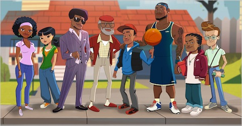 Lebron James Presents 'The Lebrons' Animated Series 2