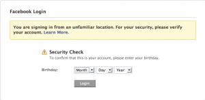 Facebook Wants Verification...I Like That 1