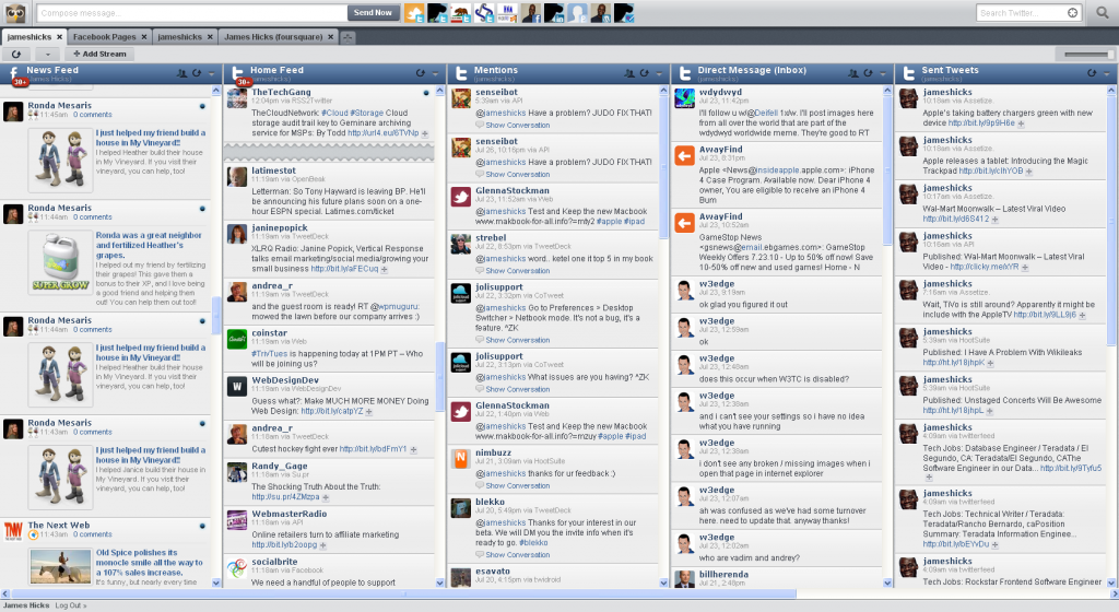 Finally Seesmic Replaces TweetDeck For Me 3