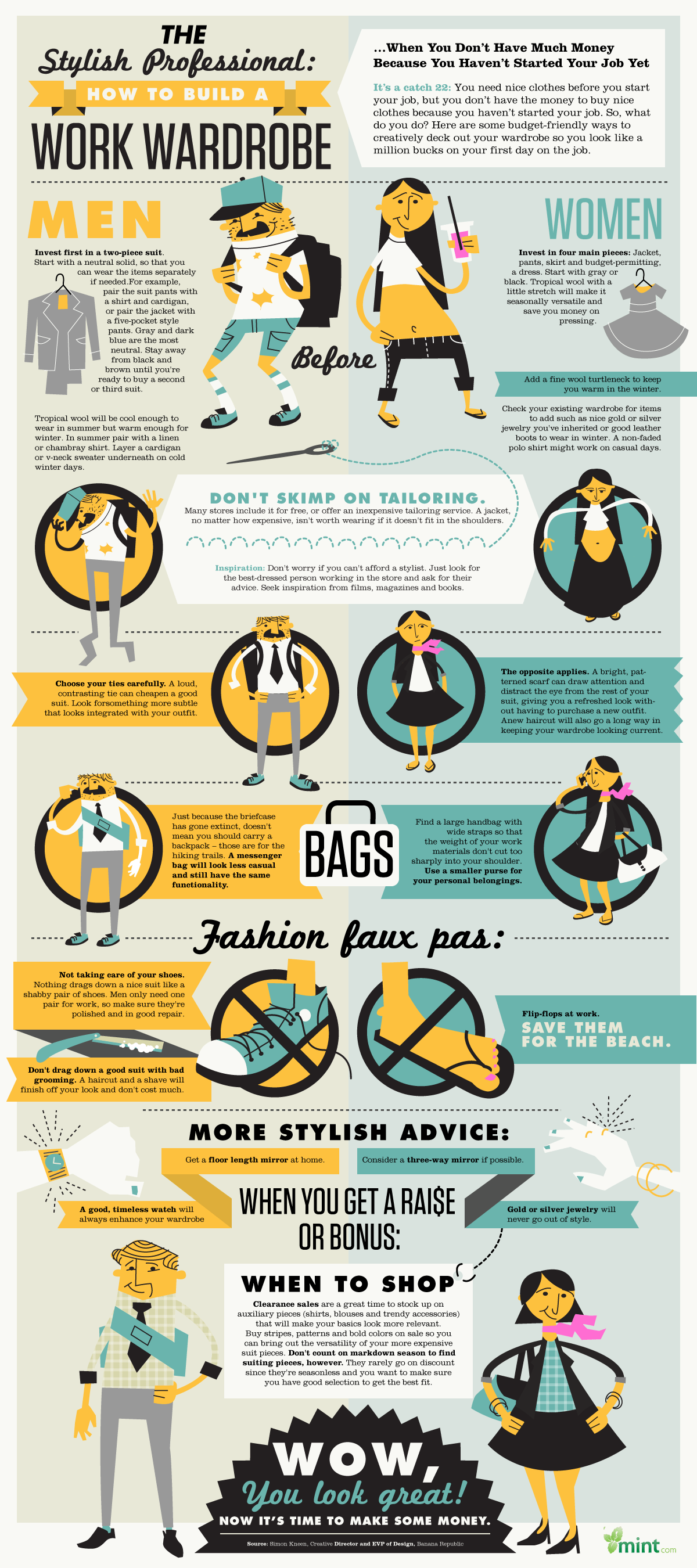 The Stylish Professional [infographic] 1