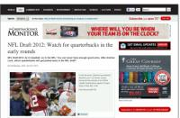 NFL Draft 2012: Watch for quarterbacks in the early rounds 1