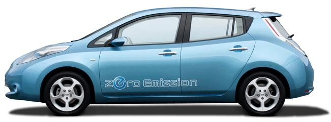 Nissan Leaf at CES 2011 1