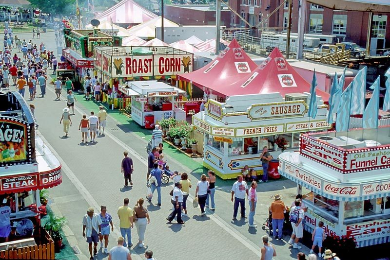 The Best Booths at State Fairs