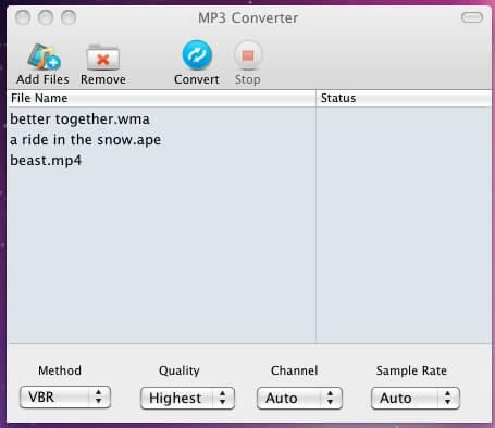 mp3 converter screenshot2