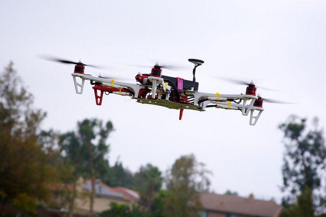 Drone First Test Flight