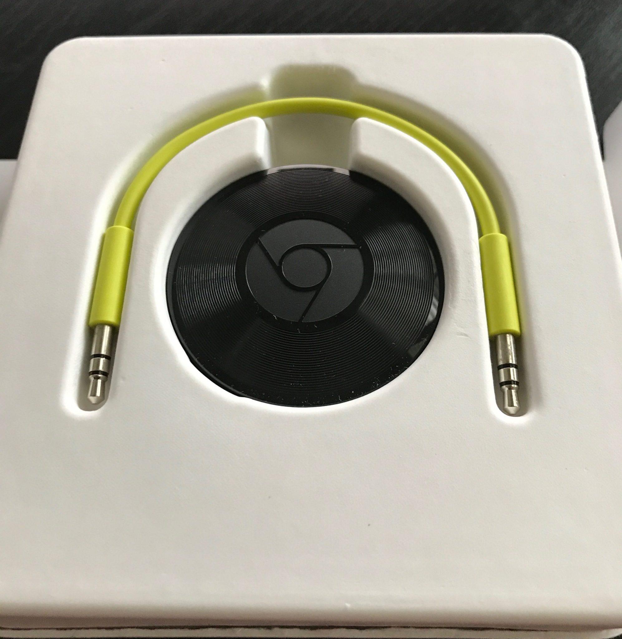 Google Chromecast Audio 1